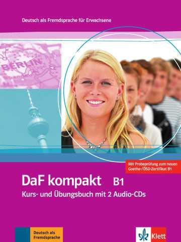 کتاب DaF kompakt B1: Kurs- und Übungsbuch