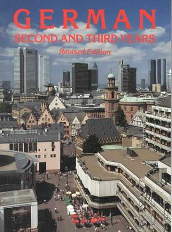 کتاب German Second and Third Years