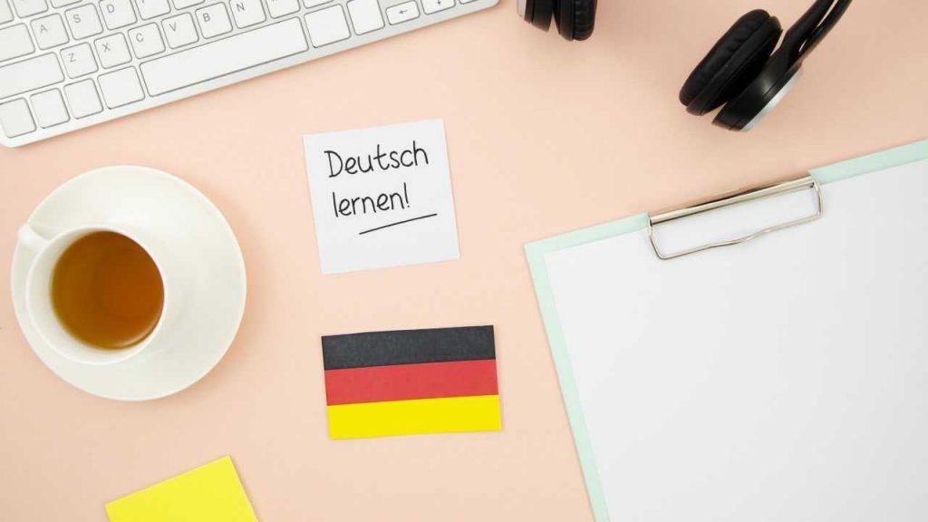 یادگیری زبان آلمانی در خانه