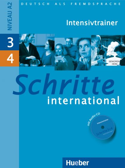 كتاب Schritte International 3+4 Intensivtrainer