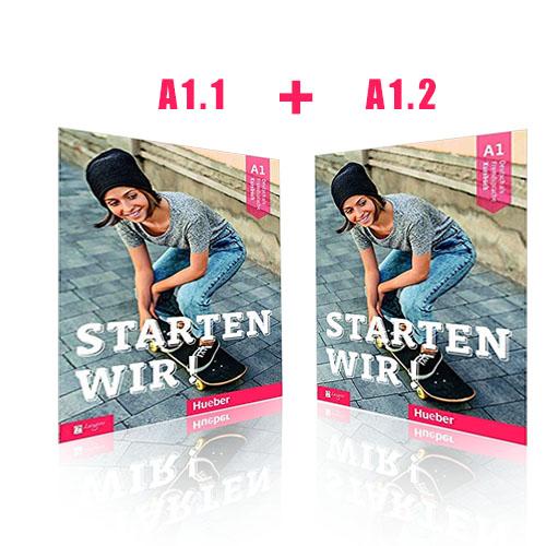 دوره خودآموز آموزش آلمانی کتاب Starten wir اشتارتن ویر A1-2 + A1-1